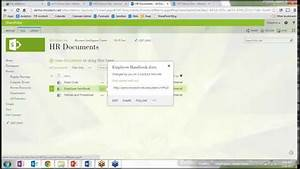 sharepoint document management youtube With document management system hr