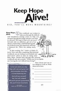 7 Habits Of Highly Effective Teens Worksheets