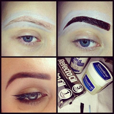 tutorial  permanent brow color chikknet