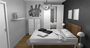 Deco Chambre Blanche : deco chambre avec photo ~ Zukunftsfamilie.com Idées de Décoration