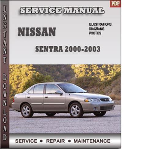 nissan sentra 2000 free download pdf repair service manual pdf 2000 2003 nissan sentra b15 service repair manual