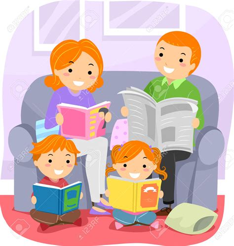 family reading together clipart reading together clipart 101 clip