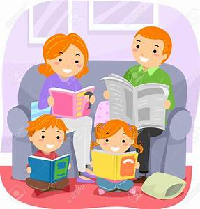 Reading Together Clipart – 101 Clip Art