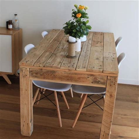 diy rustic dining table rustic style pallet dining table pallet furniture diy