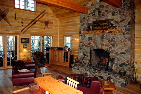 idaho log homes  sale moose creek estates gated community