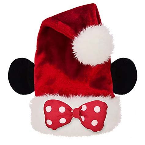 disney goofy santa hat disney santa hat minnie mouse polka dot bow new