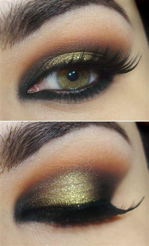 smokey eye makeup  green eyes style wile