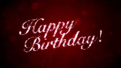 Birthday Background Happy 50th Motion Animated Graphics