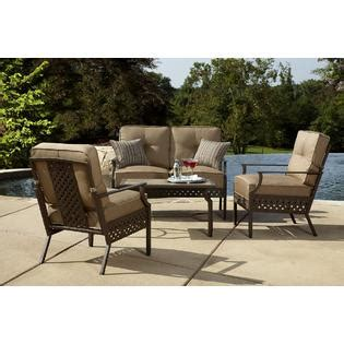 la z boy outdoor kennedy 4pc seating set