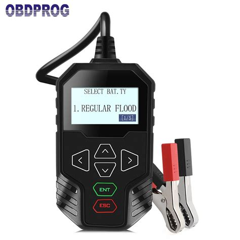 Which type you choose will be dictated by your specific needs, or how interested the tester can thus determine if the battery has the ability to start the car. OBDPROG MT300 12V Car Battery Tester 24V Trucks Battery ...