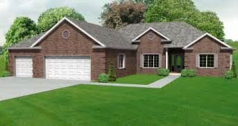 ranch home plans with basements split bedroom ranch hosue plan 3 bedroom ranch house plan