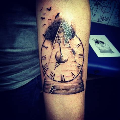 Time Flies Tattoo  Best Tattoo Ideas & Designs