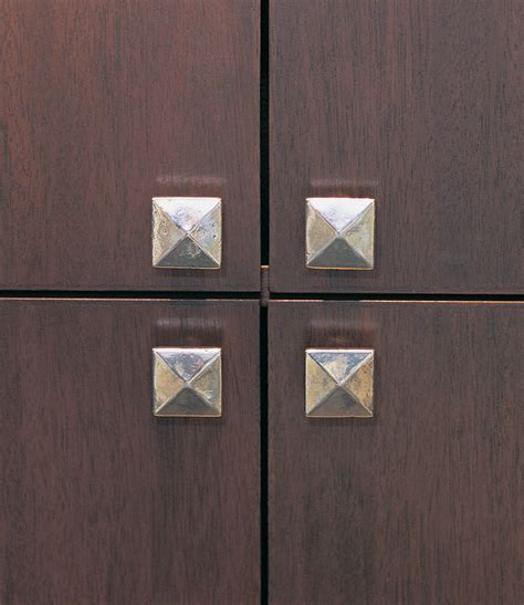 square kitchen cabinet knobs square cabinet knob 1 5 8 quot ck230 rocky mountain hardware