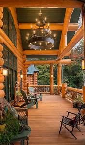 13, Cozy, U0026, Rustic, Porch, Decor, Ideas