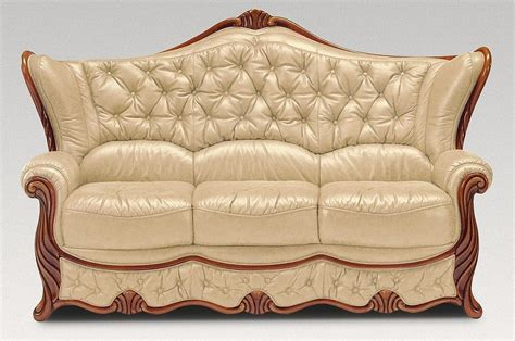How To Clean Leather Settee by 3 Seater Genuine Italian Leather Nut Sofa Settee