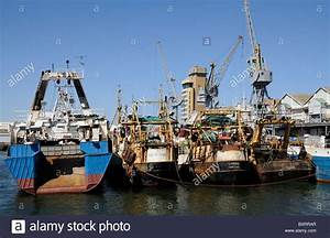 Cape Town harbour South Africa The commercial fishing port ...