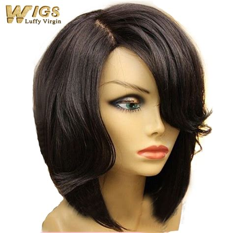 how to style extensions human hair new bob cut style human hair bob lace front wig 130