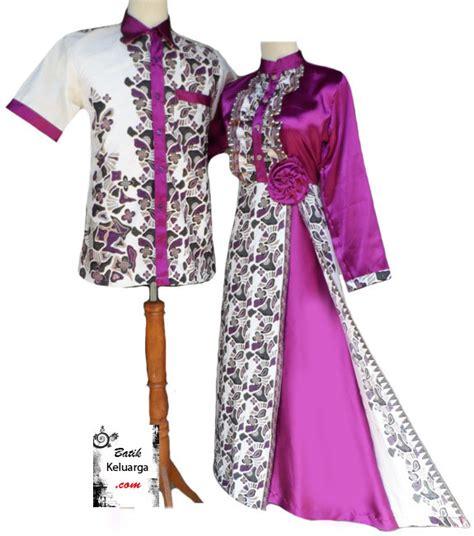 gambar model baju batik gamis kombinasi terbaru