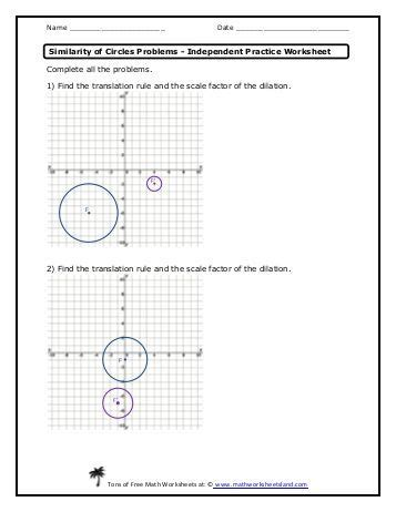 Two Way Tables Independent Practice Worksheet Math