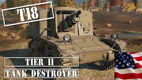 American Tier 2 Tank Destroyer || World Of