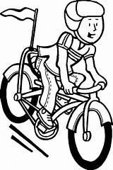 Coloring Bicycle Pages sketch template