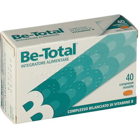 integratore alimentare be total 174 integratore alimentare di vitamine b compresse