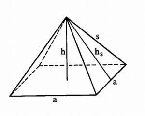 Quadratische Pyramide A Berechnen : pyramide berechnen wie ~ Themetempest.com Abrechnung