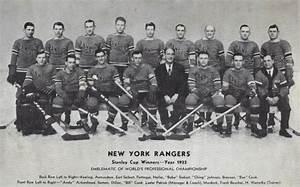 New York Rangers 1933 Stanley Cup Champions Hockeygods