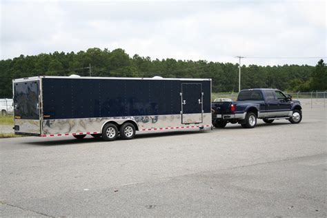 racing trailers  enclosed trailers  lessenclosed
