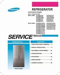 Samsung Rf261beaesg Rf260beaesg Rf261beaesl Service Manual