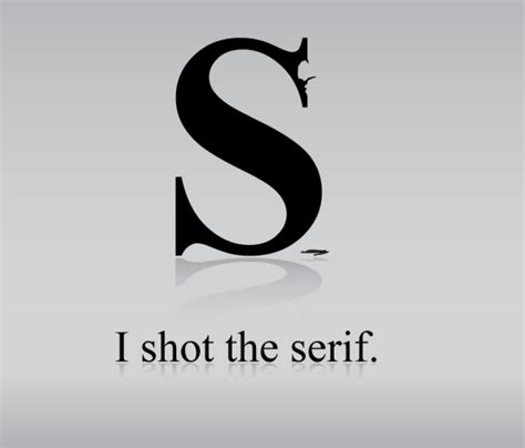 shot  serif  typeface  power   logo