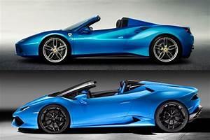 Ferrari Vs Lamborghini : lamborghini huracan spyder vs ferrari 488 how do they stack up ~ Medecine-chirurgie-esthetiques.com Avis de Voitures