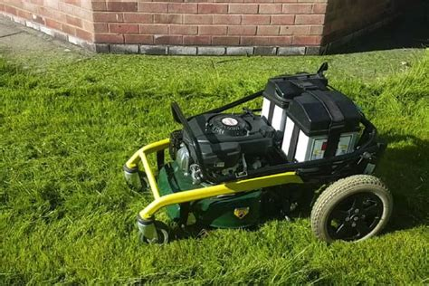 at last somebody has invented a remote controlled lawnmower digital trends