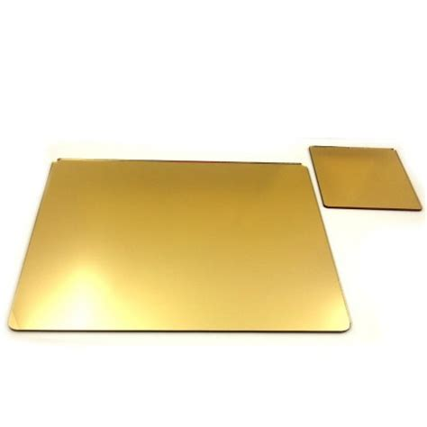 golden acrylic mirror sheet 5 10 mm rs 1100 square feet