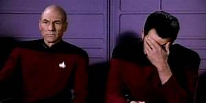 Riker and Picard