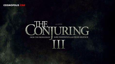 Desde su llegada en 2013, la franquicia de 'el conjuro' se ha consagrado como una de las mejores en el cine de terror moderno. EL CONJURO 3 ESTA ES LA ATERRADORA HISTORIA en LA QUE SE ...