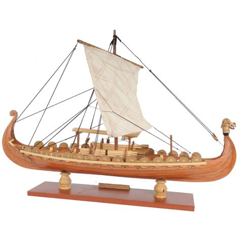 Sailboat Model Kit by Drakkar Dragon Viking Sailboat Assembly Model Kit Laser