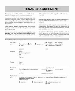 8 sample tenancy agreement forms sample example format With standard tenancy agreement template