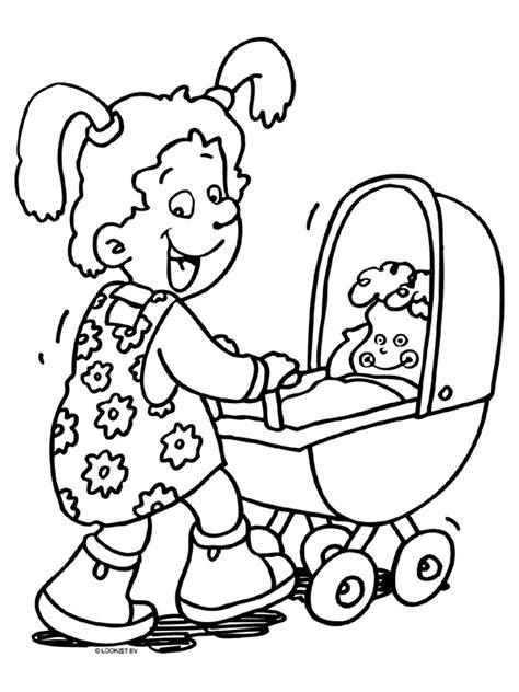 Kleurplaat Jongens Baby by Kleurplaat Meisjes 187 Animaatjes Nl