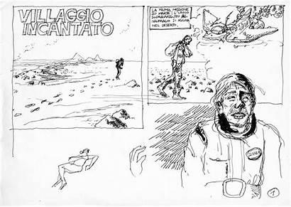 Cartoon Fiction Science Mars Short Story Massimo