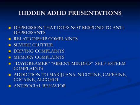 child adolescent adhd symptoms diagnosis