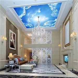 3d Decken Tapete : achetez en gros papier peint au plafond nuages en ligne des grossistes papier peint au plafond ~ Sanjose-hotels-ca.com Haus und Dekorationen