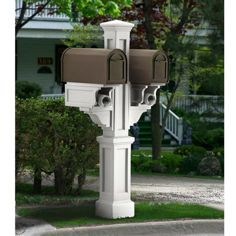Decorated Mailboxes - salsbury industries modern in ground mounted decorative