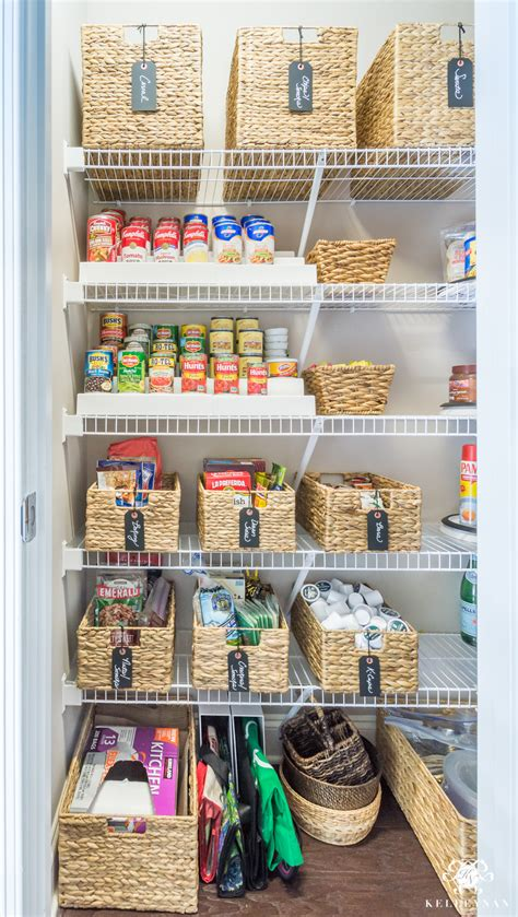 kitchen organize ideas nine ideas to organize a small pantry with wire shelving 2371