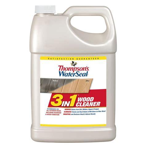 thompsons waterseal  gal    wood cleaner  pack