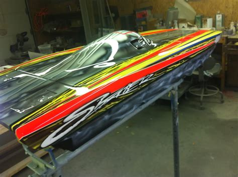 Custom Rc Jet Boat by Custom Airbrushed Boats Page 4
