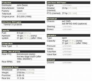 John Deere 950 Attachments