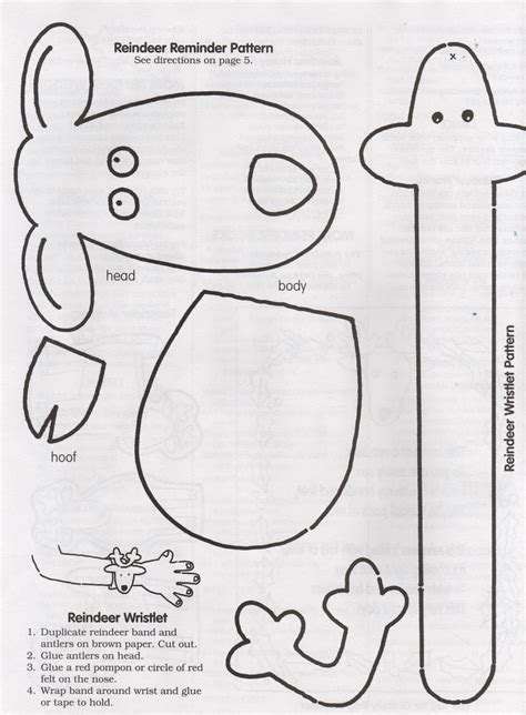 elementary school enrichment activities reindeer reminder