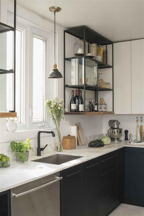 cuisines avec des etageres ouvertes frenchy fancy