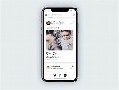 Social App Concept Universal Dribbble